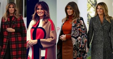 Dior art deco to Dolce & Gabbana houndstooth – all the US first lady's Christmas and Thanksgiving outfits