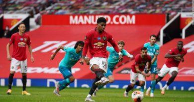 Marcus Rashford on Manchester United getting penalties